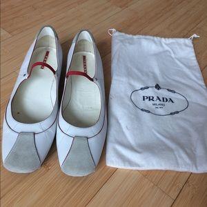 Prada ballet shoes